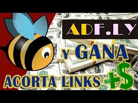 Como ganar dinero fácil por adfly 2016