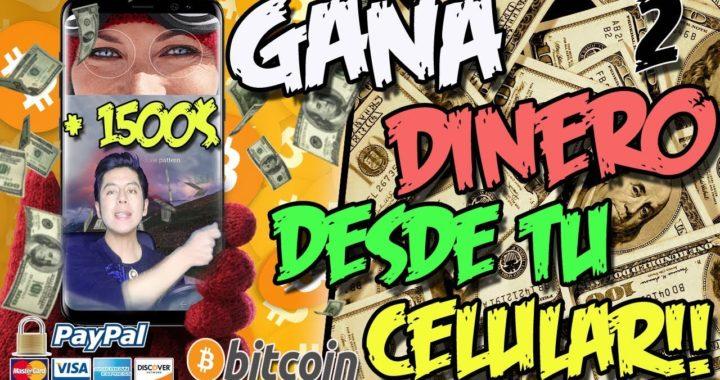 COMO GANAR DINERO GRATIS DESDE TU CELULAR | Estrategia + 1500$ cobrados