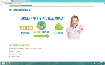 Como Ganar Dinero Likes y Seguidores fácil rápido y GRATIS