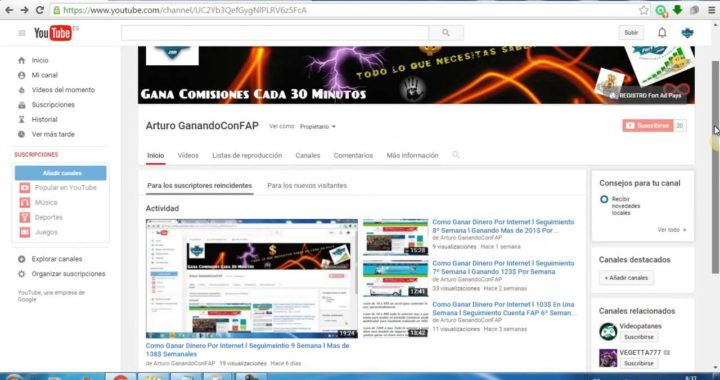 Como Ganar Dinero Online l Seguimiento Semanal 10º l 177$ Semanal Ganados l Fort Ads Pays