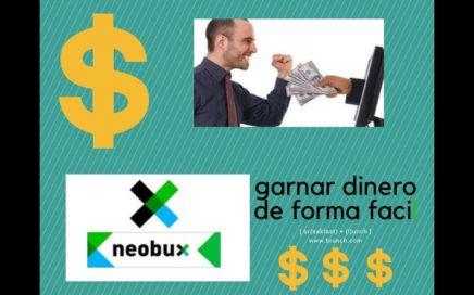 Como Ganar dinero Online  Neobux Payza Paypal 2017