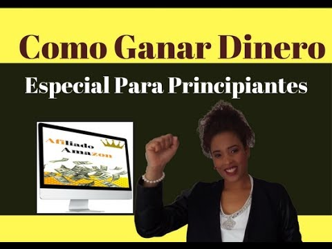 Como Ganar Dinero Online Si eres Novato Principiante/ Mairo Heffels