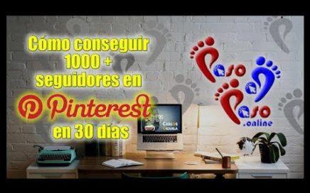 Cómo ganar dinero online usando Pinterest (parte 1) Paso a Paso Online