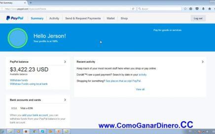Como Ganar Dinero Pagos PayPal con Tu Computadora y Tus Redes Sociales. 2017