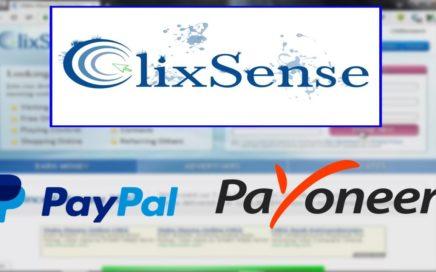 Como Ganar Dinero para Payoneer o Paypal 2017 / Clixsense / Gana hasta $5 DOLARES Diarios