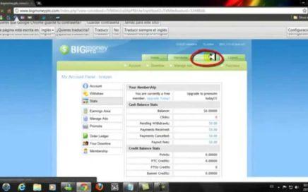 Como Ganar dinero Paypal 1 Dolar por  cada click Junio 2012.mp4