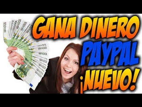 COMO GANAR DINERO PAYPAL FACIL Y RAPIDO 2016