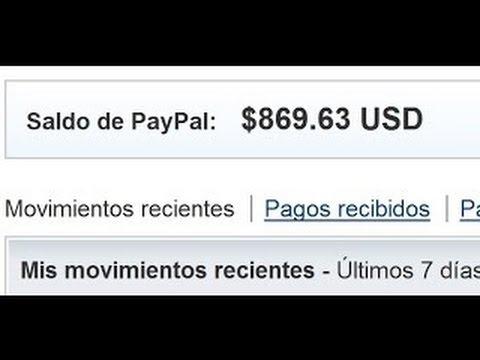 Como Ganar Dinero por Internet 2017 | 20 Dolares USD diarios comprobante de pago paypal y payza