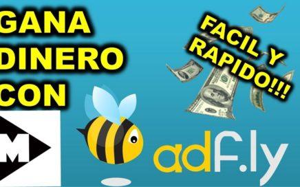 Como ganar dinero por Internet con Adfly (2017)