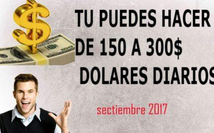 como ganar dinero por Internet para paypal  2017