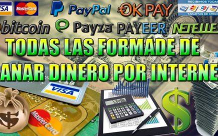COMO GANAR DINERO POR INTERNET | TODAS LAS FORMAS PARA TRABAJAR ONLINE