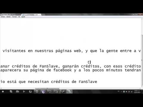Como Ganar dinero rápido en FanSlave 2013 !!!