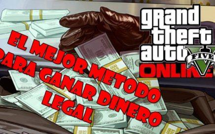 COMO GANAR DINERO RÁPIDO Y LEGAL - GTA ONLINE