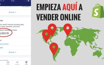 Cómo Ganar Dinero Vendiendo Productos a Través de Shopify en Internet
