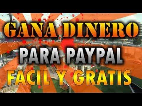 COMO GANAR MAS DE 1$ PARA TU PAYPAL GRATIS 2017