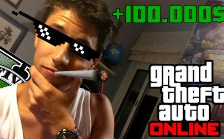 como GANAR MUCHO DINERO GTAV online +100.000$ (100% LEGAL)