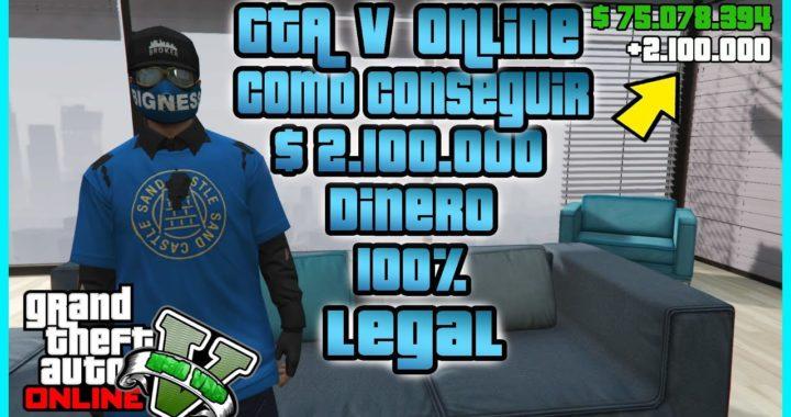 """COMO GANAR MUCHO DINERO LEGALMENTE EN """"GTA V ONLINE"""" SUPER FACIL"""