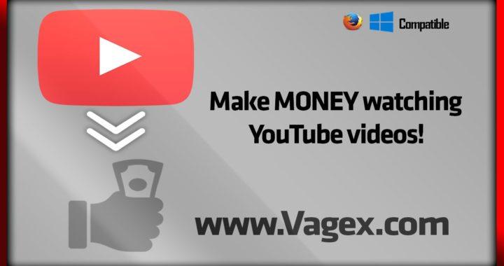 Como ganar/hacer dinero mirando videos de YouTube (VAGEX)