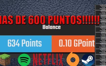 Como Obtener Puntos En Free GG +De 600 Puntos!!