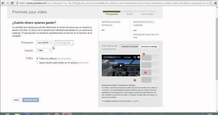 Como promocionar videos en youtube para poder ganar dinero facil ( español )