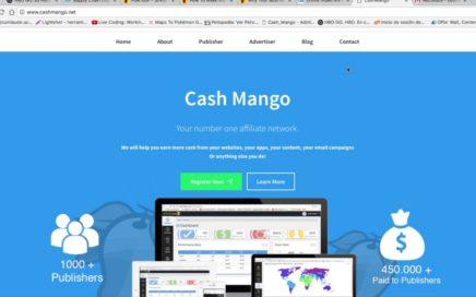 Como registrarse en CashMango y ganar dinero desde casa