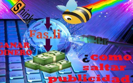 ¿Como saltar publicidad online todos los acortadores? | GANAR DINERO RAPIDO | los que mas pagan 2017