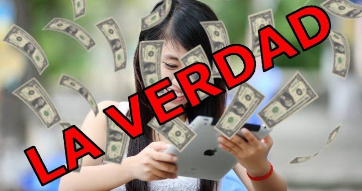 ¿Cómo se gana el dinero en Internet DE VERDAD?