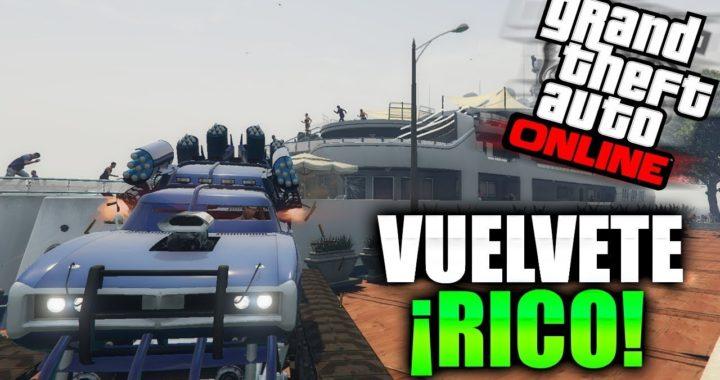 ¡COMO SER MILLONARIO CON ESTE NUEVO TRUCO DE GTA 5 ONLINE *1.41*!