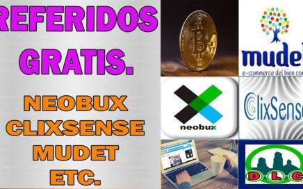 Como Tener Referidos Gratis En Neobux, Clixsense, Mudet | Y En Mas  De 50 Paginas.