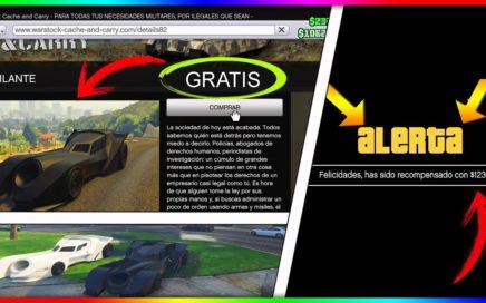 """CONSEGUIR EL VIGILANTE GRATIS!! HACER QUE ROCKSTAR TE REGALE DINERO """"GTA V ONLINE 1.41"""""""