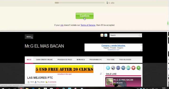 Conseguir visitas para, paginas web, dinero rapido, manera de ganar dinero facil, prueba de pagos