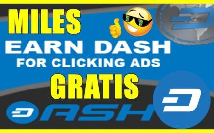DASH CLIX   GANA MILES DE DASHCOIN GRATIS Y MULTIPLICALOS FACIL Y RAPIDO !! DASH  GRATIS