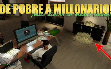 De POBRE a MILLONARIO en GTA ONLINE - Maneras de ganar DINERO