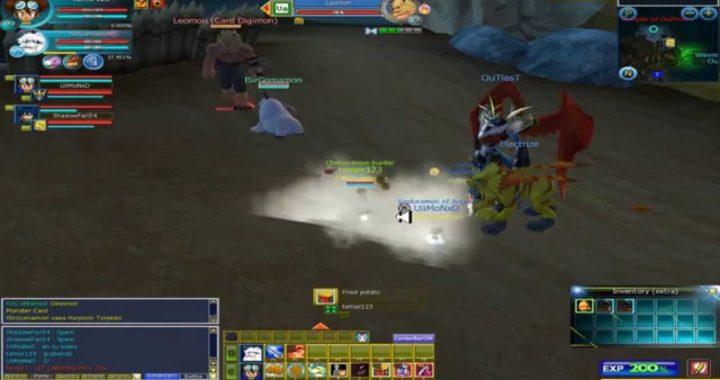 Digimon Masters Online como ganar dinero parte 2 2015