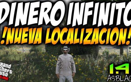 DINERO INFINITO MASIVO - NUEVA UBICACIÓN - GTAV Online 1.41 - SIN AYUDA - FUNCIONA FÁCIL (PS4-XBOX)