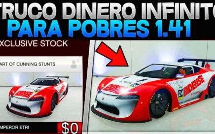 ¡DINERO INFINITO! NUEVO TRUCO GTA 5 ONLINE DINERO INFINITO 1.41