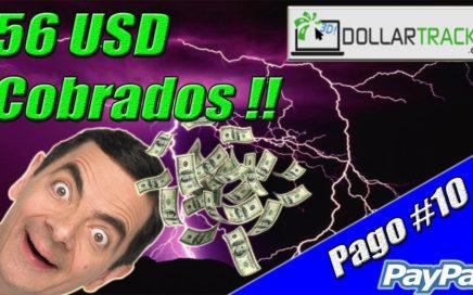 DollarTracks Nuevo Pago de 56$ por Paypal | Gana Dólares Gratis a Paypal | Gokustian