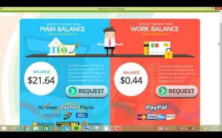 Earn Money Network  $51 00  PRUEBA DE PAGO A PAYPAL   Gana Dinero por Tener el PC encendido