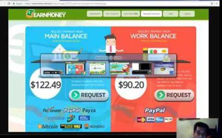 Earn Money Network Explicación  Gana Dinero en Piloto Automático y 10$ Gratis