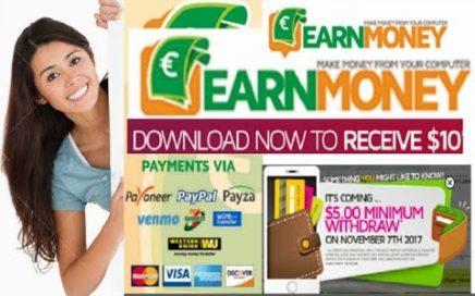 Earn Money Network - Ganar hasta 10.00 $ al dia por Tener el PC encendido   a PayPal  Western Union