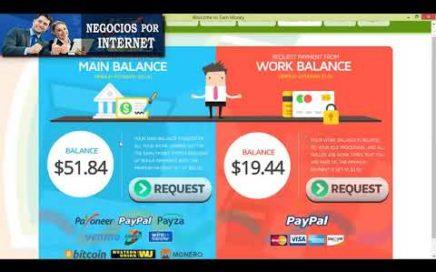 Earn Money Network PRUEBA DE PAGO $50 Dólares a Paypal | Ganar Dinero Fácil Sin Inversión