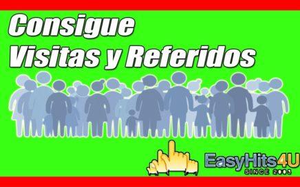 EasyHits4U Consigue Visitas, Referidos y Dinero GRATIS (Pago #2) | Gokustian