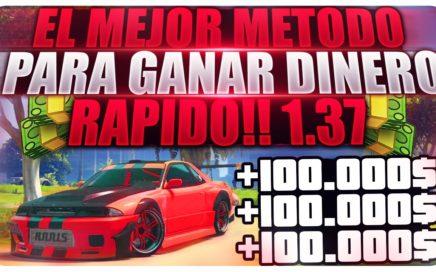 EL MEJOR METODO PARA GANAR DINERO EN GTA 5 ONLINE [DINERO INFINITO GTA V 1.37] PS4/XBOX ONE/PC