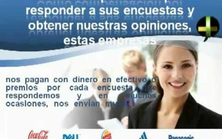 Encuestas Remuneradas ganar dinero online llenando encuestas