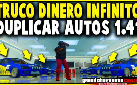 EXCLUSIVO! NUEVO DINERO INFINITO FACIL! GTA 5 1.41 DUPLICAR AUTOS MASIVO (PS4 XBOX ONE Y PC)