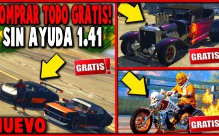 EXCLUSIVO! NUEVO TRUCO COMPRAR TODO GTA 5 GRATIS SIN AYUDA! GTA 5 1.41 (MONEY GLITCH) XBOXONE Y PS4