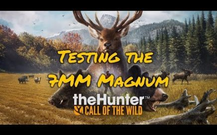 [Extra Hunt] theHunter: Call of the Wild [Shooting a Coyote in the face with the 7MM Magnum]