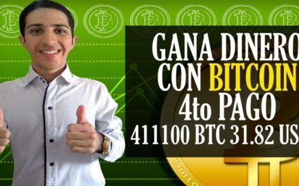 FAUCETPIG 4to PAGO [ 411100 BTC 31.82$ USD] Como GANAR DINERO con BITCOIN sin INVERTIR