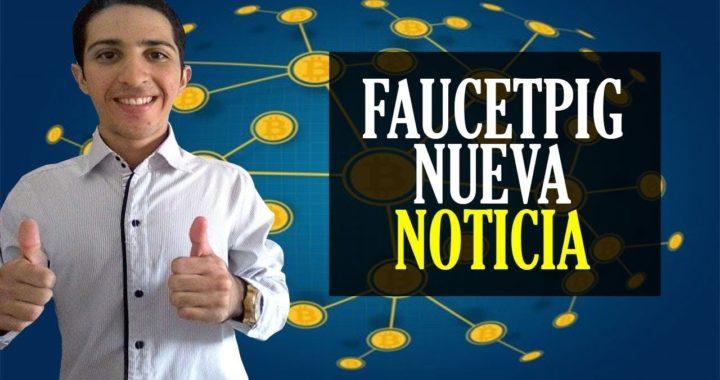 FAUCETPIG Nueva Noticia [Aumentaron el Mínimo de Retiro 300.000 SATOSHIS] Opinión Personal