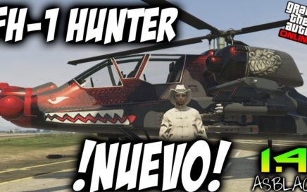 FH-1 HUNTER - NUEVO HELICOPTERO DE COMBATE - GTAV 1.41 Online - ACTUALIZACIÓN SMUGGLER'S RUN